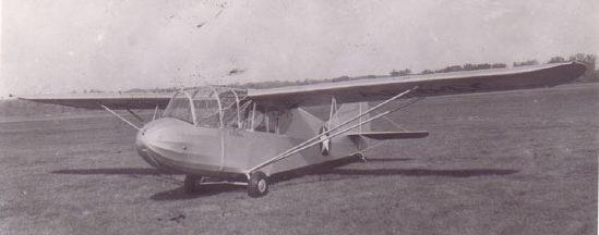 Планер Aeronca TG-5