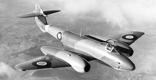 Реактивный истребитель Gloster Meteor F.Mk-III. (G.41C)