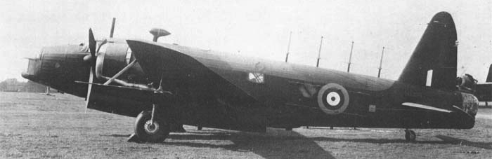 Бомбардировщик Vickers Wellington Mk-VIII