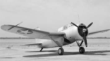 Палубный разведчик-бомбардировщик Brewster SBA