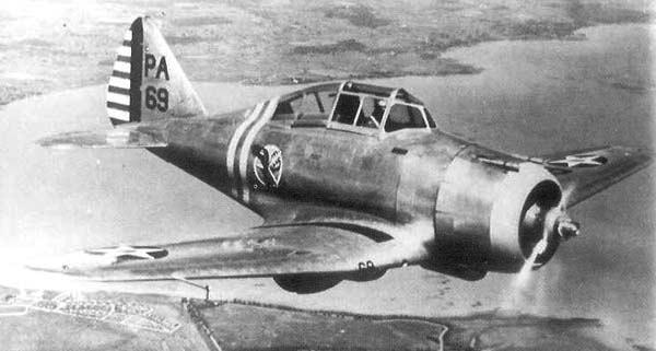 Истребитель Seversky P-35