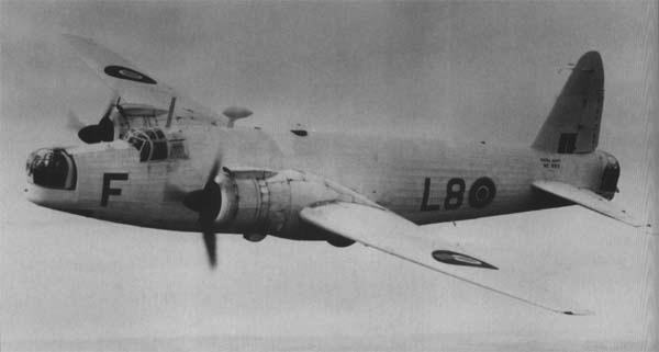 Бомбардировщик Vickers Wellington Mk-X