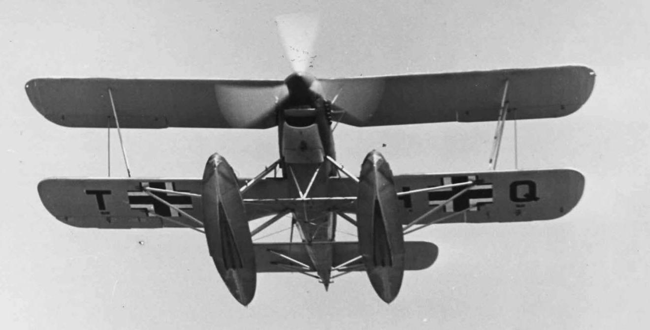 Гидросамолет Heinkel He-60