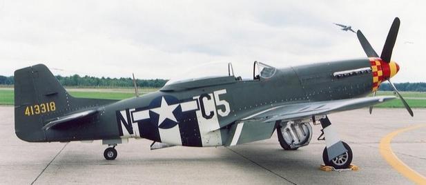 Ближний разведчик Mustang FR (F-6)