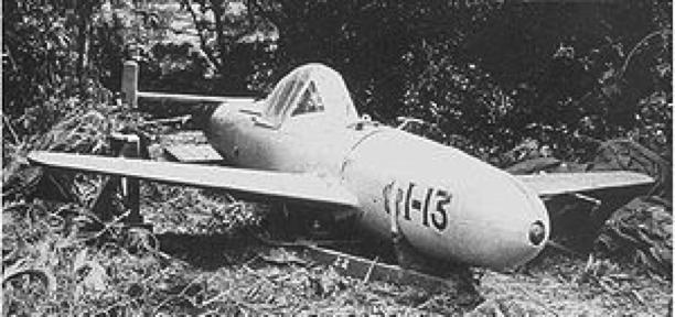 Противокорабельный самолет-снаряд Yokosuka MXY-7 Ohka
