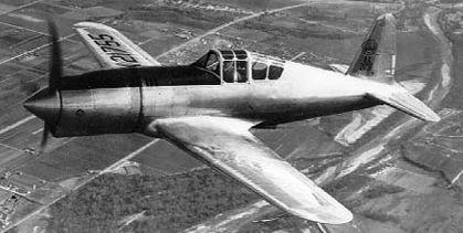 Истребитель Vultee P-66 Vanguard