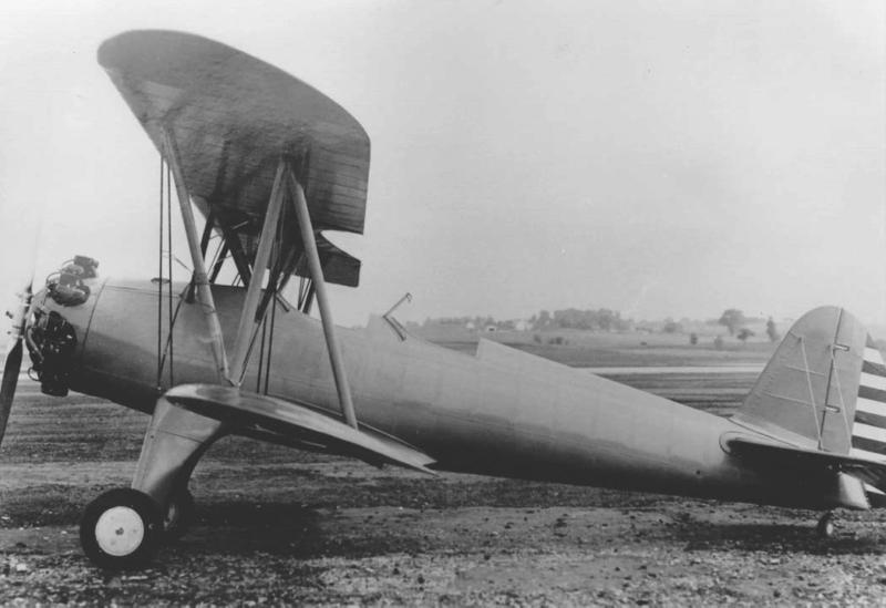 Учебно-тренировочный самолет St. Louis PT-15