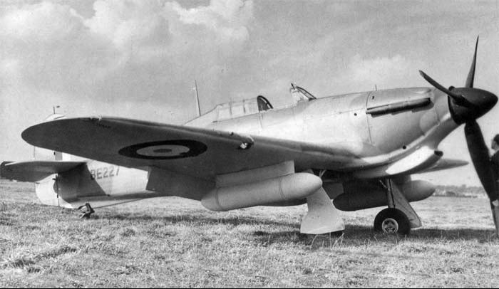 Истребитель Hurricane IIB