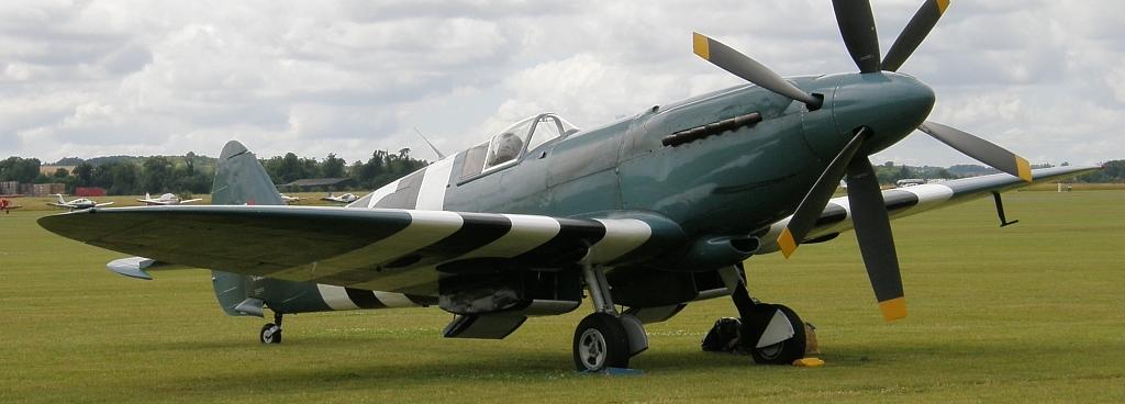 Скоростной разведчик Supermarine Spitfire PR-XIX