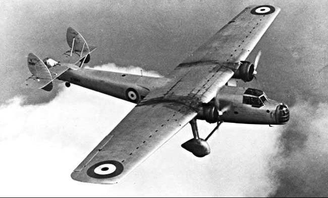 Транспортный самолет Bristol Bombay