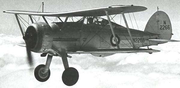 Палубный истребитель Gloster Sea Gladiator
