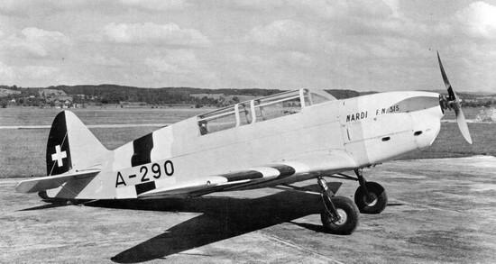 Учебно-тренировочный самолет Nardi FN-315