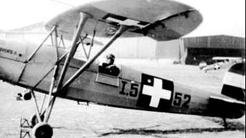 Учебно-тренировочный самолет Fabian Levente