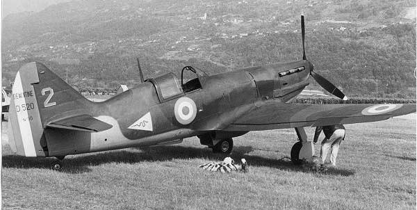 Истребитель Dewoitine D.520