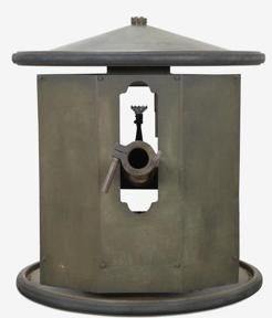 Гранатомет Smith Gun вид со стороны щита