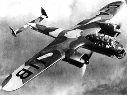 Pазведчик-бомбардировщик Dornier Do-215В