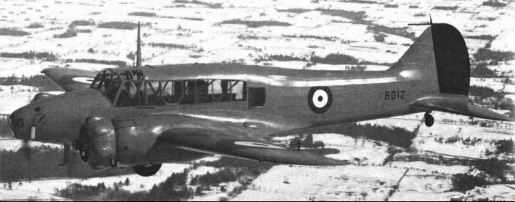 Патрульный самолет Avro Anson Mk-III