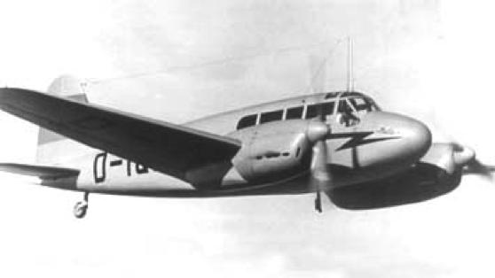 Многоцелевой самолет Siebel Fh-104 Hallore