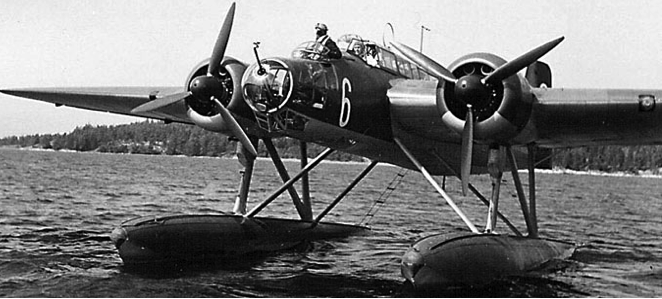 Гидросамолет Heinkel He-115