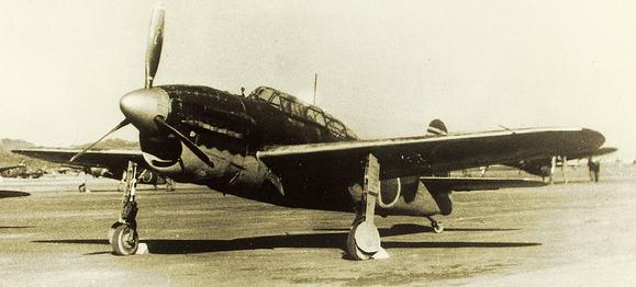 Палубный бомбардировщик Yokosuka Suisei D-4Y2