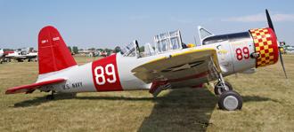 Учебно-тренировочный самолет Vultee BT-13 Valiant