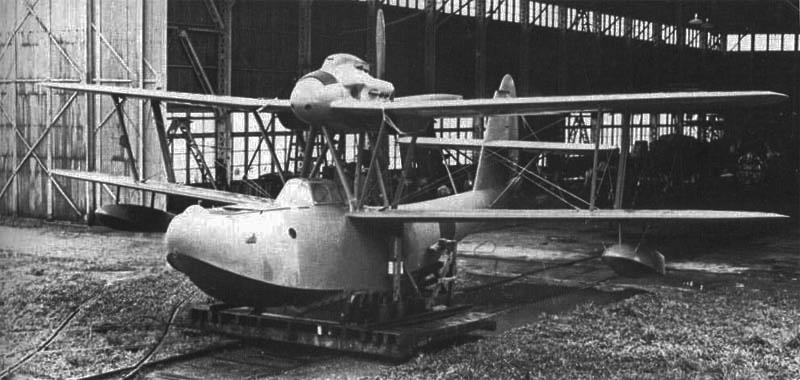 Летающая лодка Aichi E-11A (Тип 98)