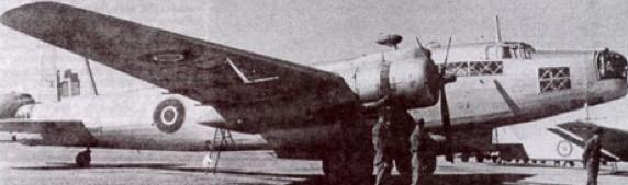 Разведчик Vickers Warwick GR.Mk-II