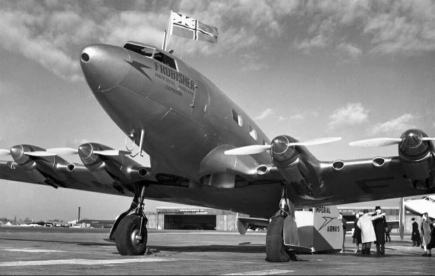 Транспортный самолет de Havilland DH-91 Albatross