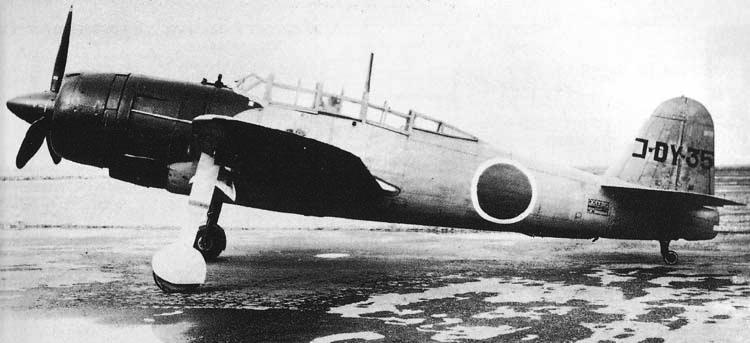 Палубный бомбардировщик Yokosuka Suisei - D-4Y3