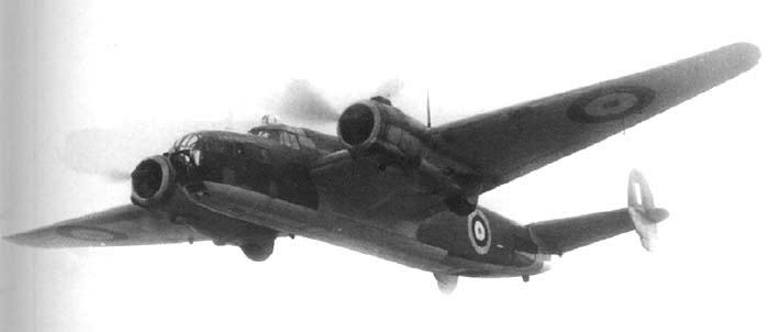 Бомбардировщик Albemarle - B.Mk-I