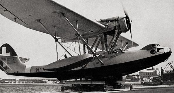 Летающая лодка Cant Z-501 Gabbiano