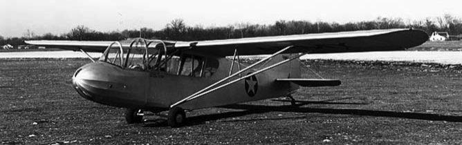Учебный Учебный планер Aeronca TG-5 Aeronca TG-5