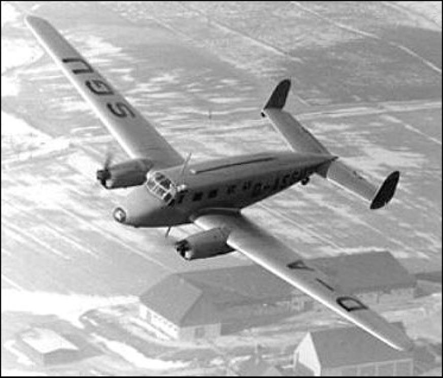 Вспомогательный самолет Siebel Si-204-D