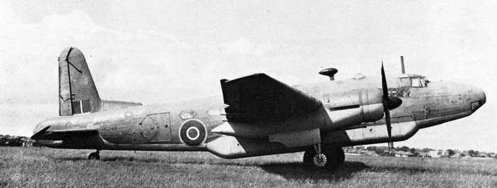Транспортный самолет Vickers Warwick С Mk-I/III