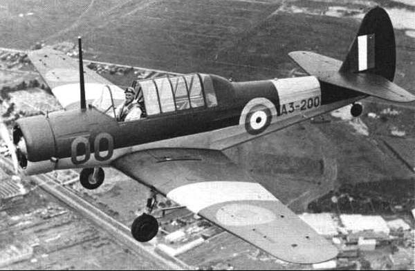 Учебно-тренировочный самолет Commonwealth CA-6 Wackett
