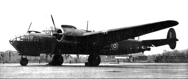 Бомбардировщик Albemarle GT. Mk.I.