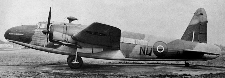 Транспортный самолет Vickers Wellington C