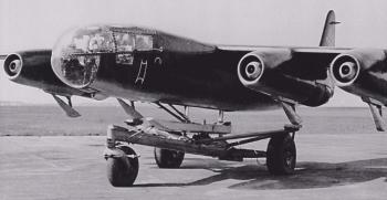 Реактивный бомбардировщик Arado Ar.234-А