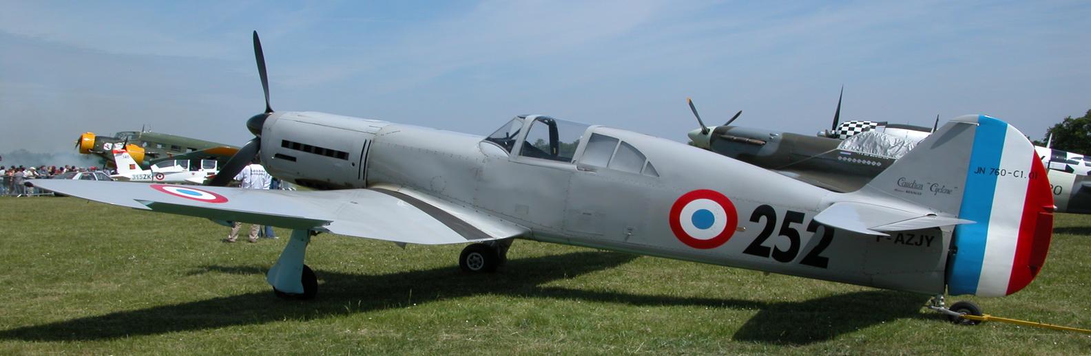 Истребитель Caudron CR.714