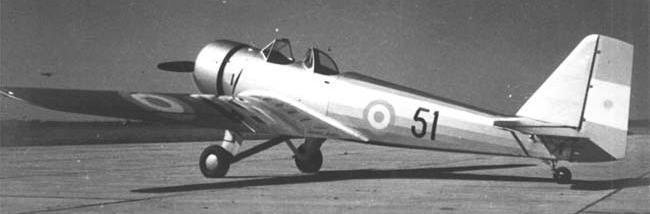Учебно-тренировочный самолет FMA Ae.M.Oe.2