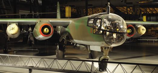 Реактивный бомбардировщик Arado Ar. 234-В с реактивными ускорителями взлета
