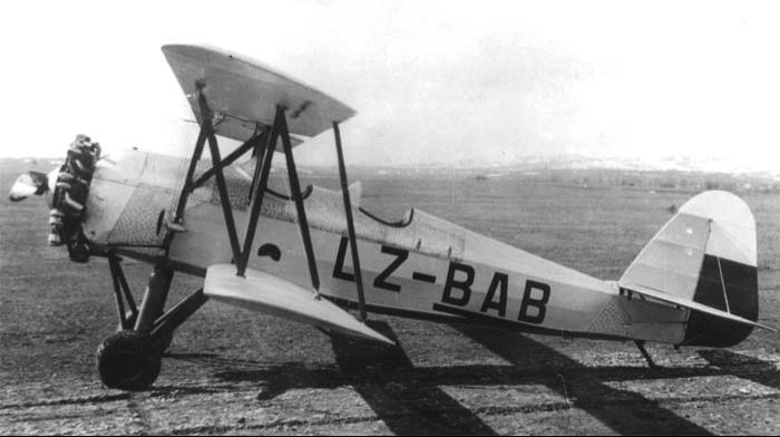 Учебно-тренировочный самолет ДАР-8 Славей