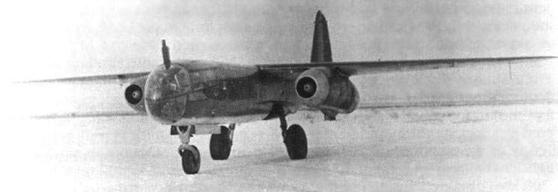 Реактивный бомбардировщик Arado Ar. 234-В