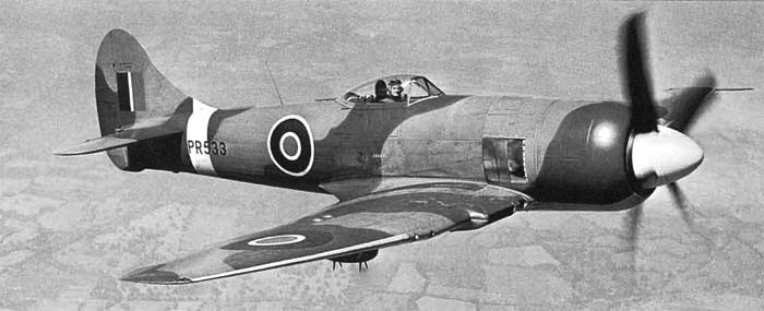 Истребитель Hawker Tempest - Mk-II