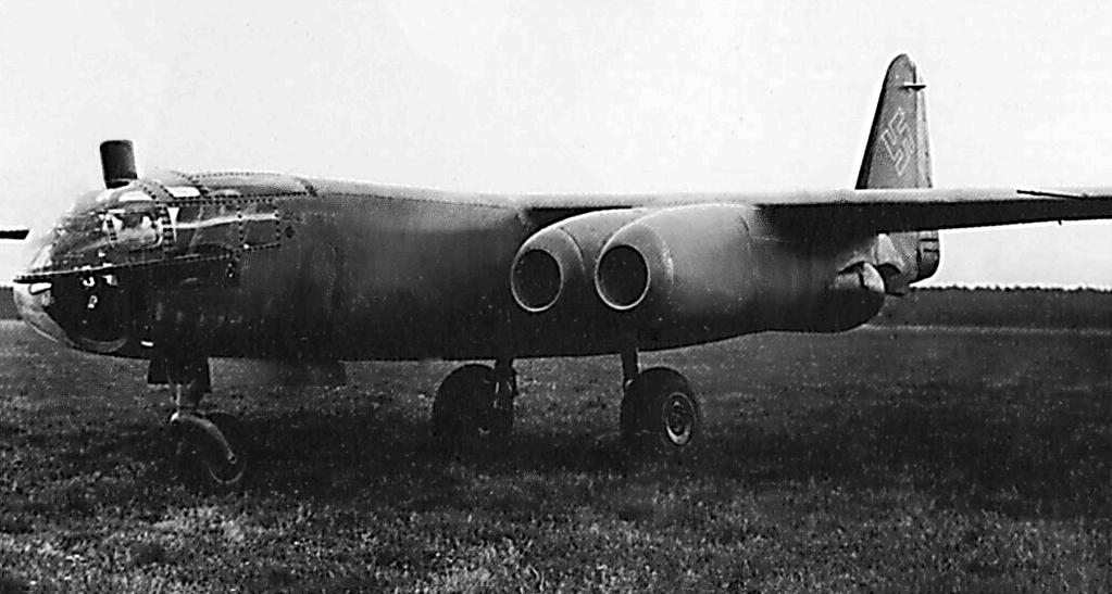 Реактивный бомбардировщик Arado Ar. 234-С