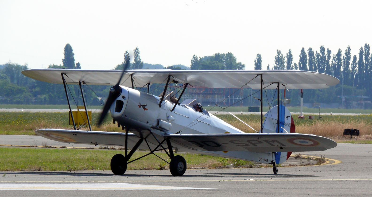 Многоцелевой самолет Stampe et Vertongen SV-4C