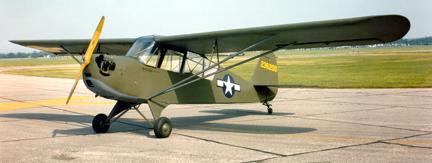 Учебно-тренировочный самолет Aeronca L-3 Grasshopper