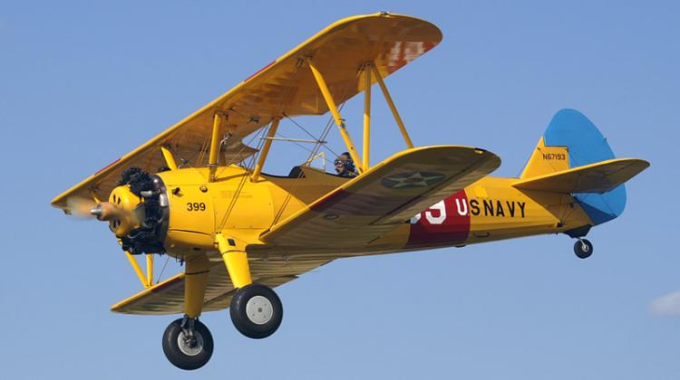Учебно-тренировочный самолет Boeing-Stearman Kaydet - PT-13