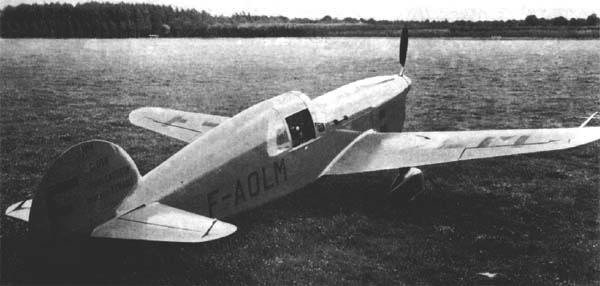 Учебно-тренировочный самолет Caudron C-690
