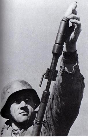 Карабин Mauser K-98k с ружейным гранатометом